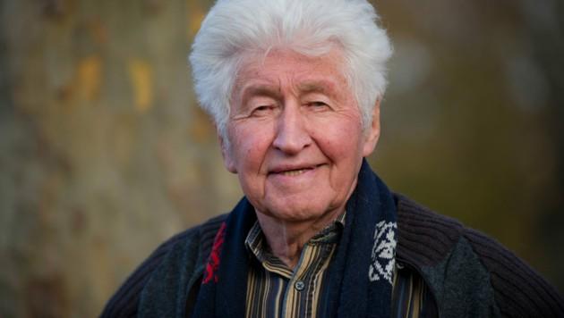 Der deutsche Dirigent, Komponist und Leiter der Fischer-Chöre, Gotthilf Fischer im November 2012 - vergangenen Freitag starb er. (Bild: dpa/Marijan Murat)