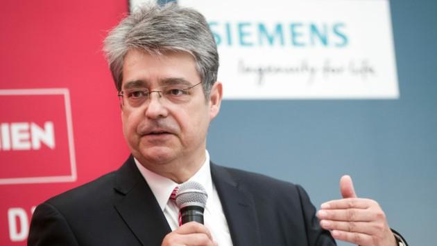 Wolfgang Hesoun, Generaldirektor von Siemens Österreich, ist neuer Aufsichtsratsvorsitzender der Casinos Austria AG (CASAG). (Bild: APA/GEORG HOCHMUTH)