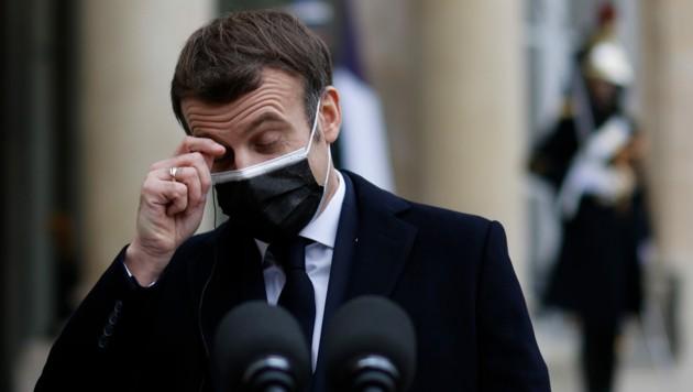 Frankreichs Präsident Emmanuel Macron (Bild: AFP)