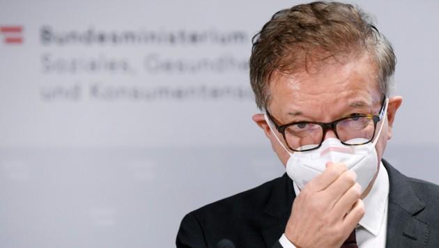 Gesundheitsminister Rudolf Anschober (Grüne) (Bild: APA/HANS KLAUS TECHT)