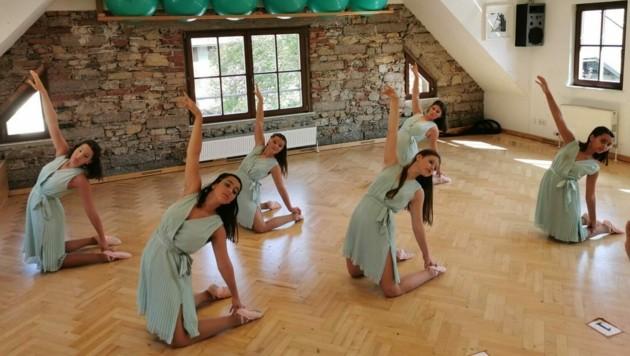 Sechs Mädchen von der Dance Factory holten sich den WM-Titel (Bild: zVg/Mehner)