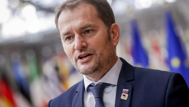 Der slowakische Ministerpräsident Igor Matovic (Bild: AP)
