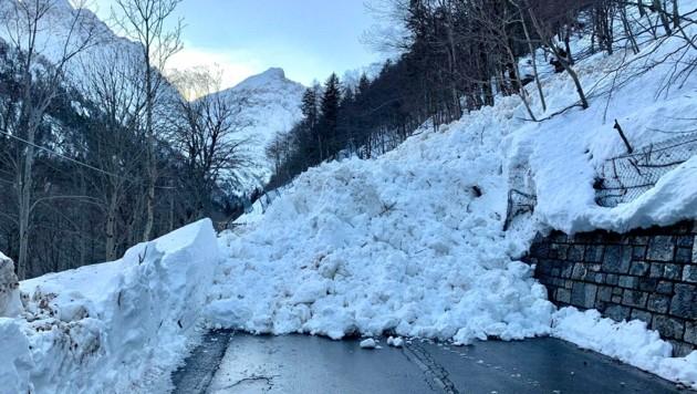 Die Plöckenpass Straße ist wieder gesperrt. (Bild: Hannes Wallner)