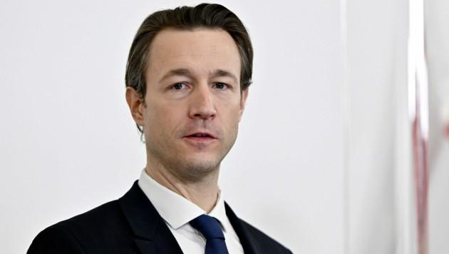 Finanzminister Gernot Blümel (Bild: APA/Herbert Neubauer)