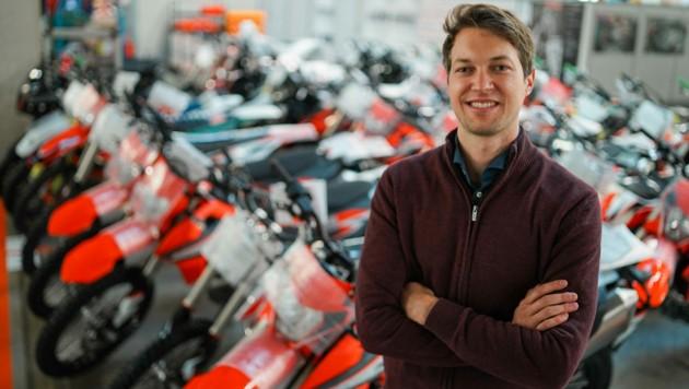 Clemens Türmer ist für die Produktion im KTM-Werk in Mattighofen verantwortlich.