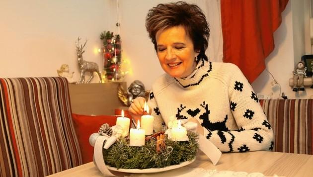 Monika Martin wünscht ihren Fans einen besinnlichen vierten Advent.