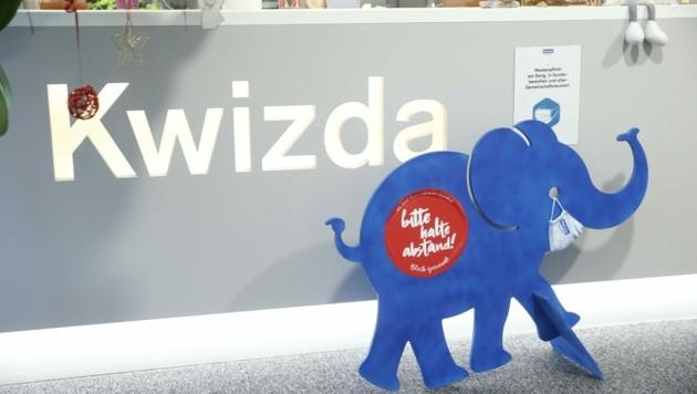 Spezialist: 250.000 Packungen Medikamente werden vom Kwizda-Standort Wien täglich ausgeliefert. (Bild: Holl Reinhard)