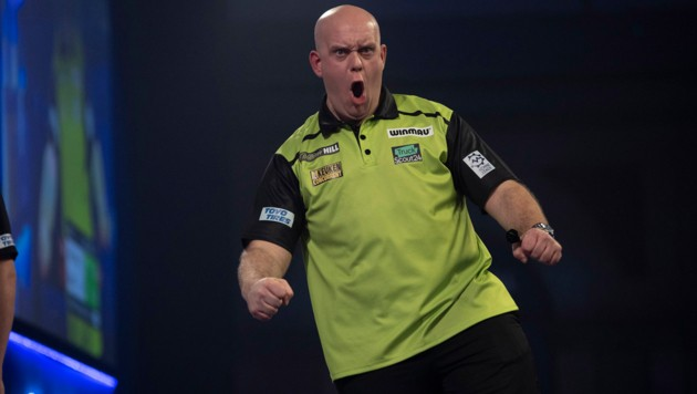 Darts-Star Michael van Gerwen