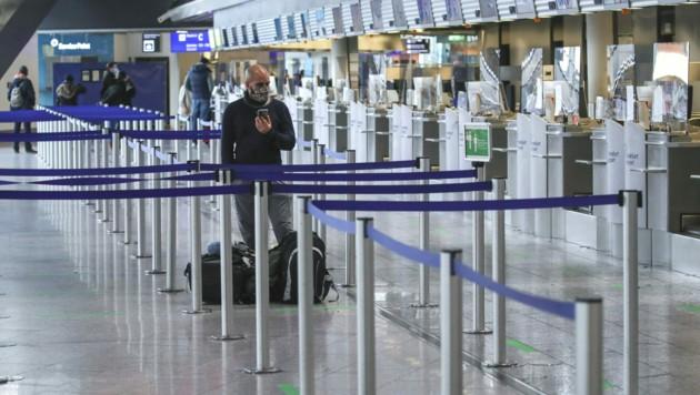 Flughafen Frankfurt (Archivbild) (Bild: AFP)