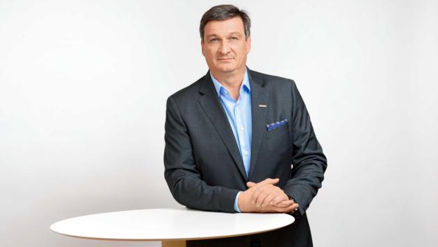 """Kärntens WK-Präsident Jürgen Mandl fordert die Politik zum Handeln auf: """"Unternehmer haben bereits alles getan!"""" (Bild: WKK/Helge Bauer)"""