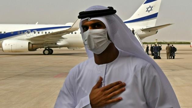 Für ausländische Diplomaten gibt es Ausnahmen vom allgemeinen Einreiseverbot in Israel. (Bild: APA/AFP/KARIM SAHIB)