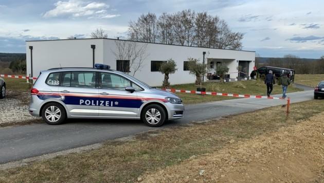 Der Tatort im Ortsteil Maierhofen. (Bild: Schulter Christian)