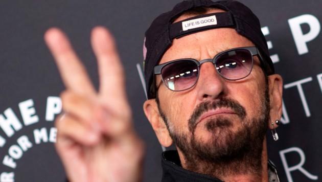 Ringo Starr (Bild: APA/AFP)
