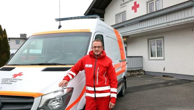 Robert Heugenhauser aus Saalfelden macht seit zehn Jahre am Heiligen Abend Dienst. (Bild: Roland Hölzl)