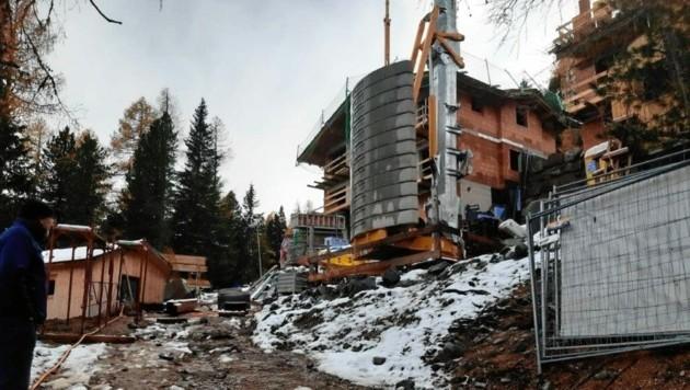 Auf der Turrach werden zahlreiche Chalets gebaut, was zu einer Wasserknappheit führt. (Bild: Wolf Burian)