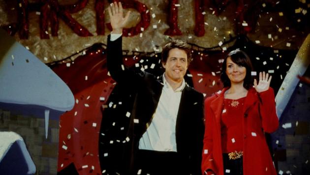 """Martine McCutcheon hat gestanden, dass sie während der Dreharbeiten zu """"Tatsächlich… Liebe"""" in ihren Co-Star Hugh Grant verliebt war. (Bild: UNIVERSAL PICTURES / Mary Evans / picturedesk.com)"""
