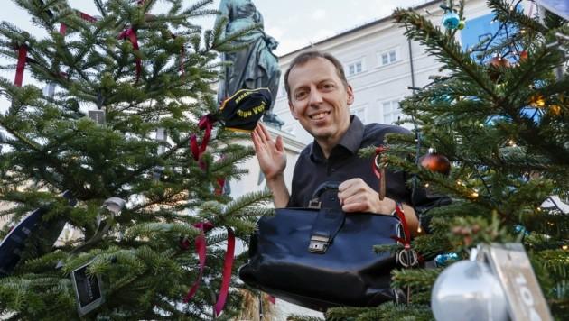 Ingo Vogl empfiehlt, sich Kinder zum Vorbild zu nehmen (Bild: Tschepp Markus)