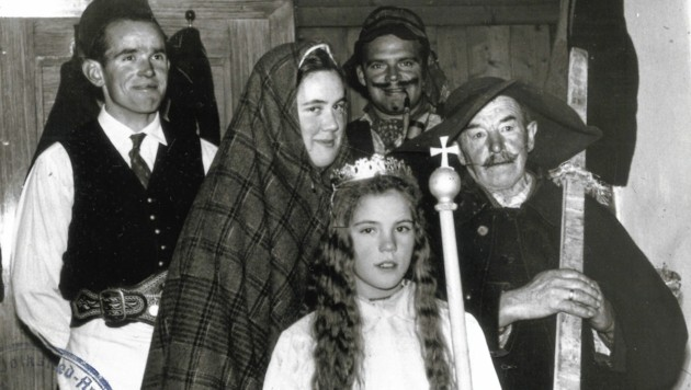 Die Herbergssuche ist eine traditionelles, christliches Brauchtum (Bild: Kulturregion-NÖ-Archiv)