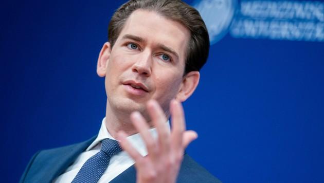 Bundeskanzler Sebastian Kurz (ÖVP) (Bild: APA/Georg Hochmuth)