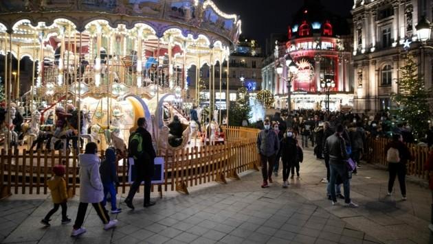 In Frankreich ist ein junger Muslim bedroht und angegriffen worden, weil er das Weihnachtsfest gefeiert hat. (Bild: AFP )