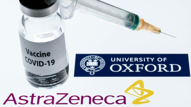Der Impfstoff von AstraZeneca (Bild: APA/AFP/Joel Saget)