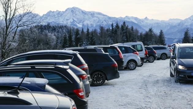 Parkplätze gab es keine mehr (Bild: Tschepp Markus)