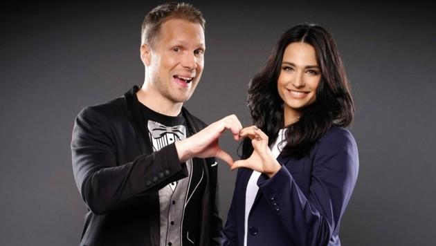 Oliver Pocher und seine Frau Amira Pocher (Bild: Thomas Burg / Action Press / picturedesk.com)