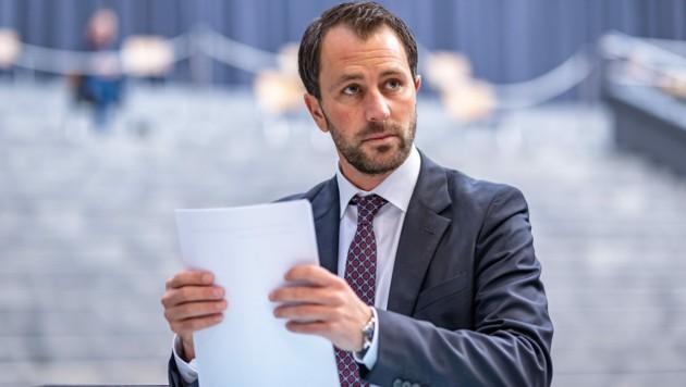 Tirols SPÖ-Chef Georg Dornauer (Bild: APA/EXPA/JOHANN GRODER)