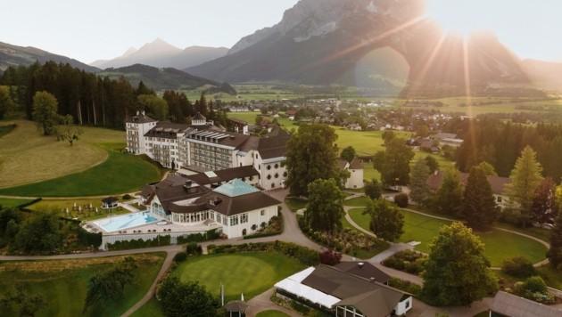 Das Schloss im Ennstal gehört ab Jänner zur Imlauer-Gruppe (Bild: IMLAUER HOTELS & RESTAURANTS)