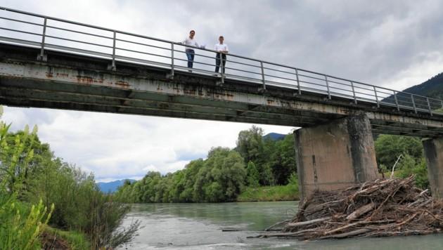 In der Gemeinde St. Stefan im Gailtal müssen nach dem Sturm Vaia einige Brücken erneuert oder saniert werden. (Bild: LR Gruber/Taltavull)