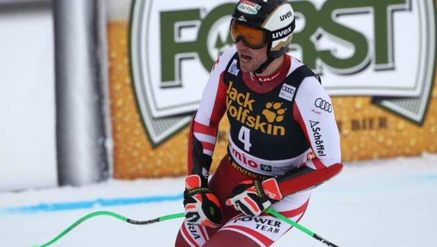 Hannes Reichelt verpasste im Super-G von Bormio die Weltcup-Punkteränge. (Bild: GEPA pictures)