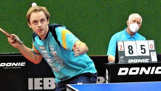 David Vorcnik zeigte beim Austria-Top-12-Turnier auf. (Bild: StTTV)