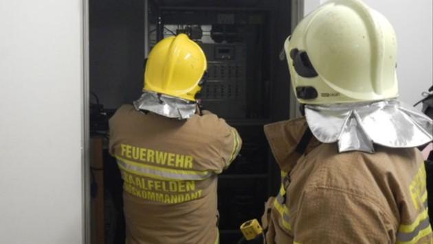 Die Freiwillige Feuerwehr Saalfelden brachte die Lage rasch unter Kontrolle.