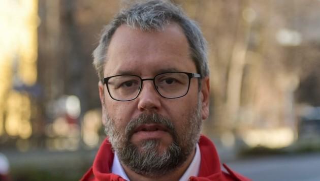 Dietmar Kratzer vom Kriseninterventionsteam. (Bild: zeitungsfoto.at/Liebl Daniel)