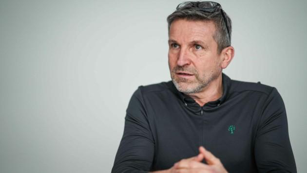 """""""Wir merken einen unglaublichen Zulauf, aber ich mache sicher kein Massenprodukt daraus. ,Made in Austria' ist mir wichtig"""", sagt Dietmar Hehenberger. (Bild: Markus Wenzel)"""
