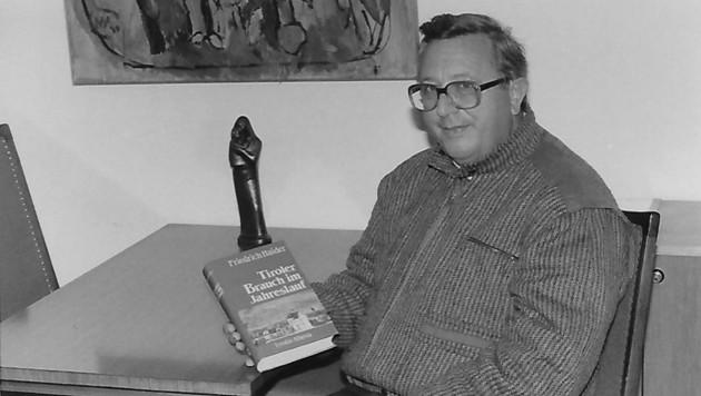 Der engagierte Volkskundler Friedrich Haider (1921-2009).