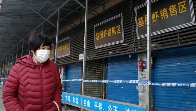 Von China aus hat sich das Coronavirus auf der ganzen Welt verbreitet - nun ist die wesentlich ansteckendere Mutation zurückgekehrt. (Bild: AFP)