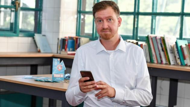 Thomas Rafelsberger (34) ist Chef des digitalen Marktplatzes für Game-Streamer namens own3d media.
