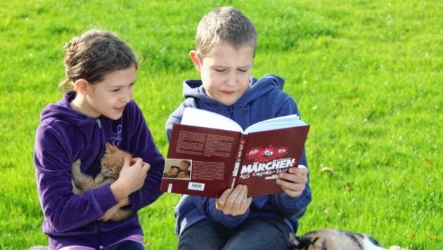 Katharina und Stefan sind in jungen Jahren schon Autoren.