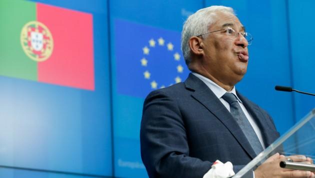 Der portugiesische Premierminister Antonio Costa
