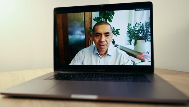 Ugur Sahin, der Chef des Biotechnologieunternehmens Biontech (Bild: AFP/Yann SCHREIBER)