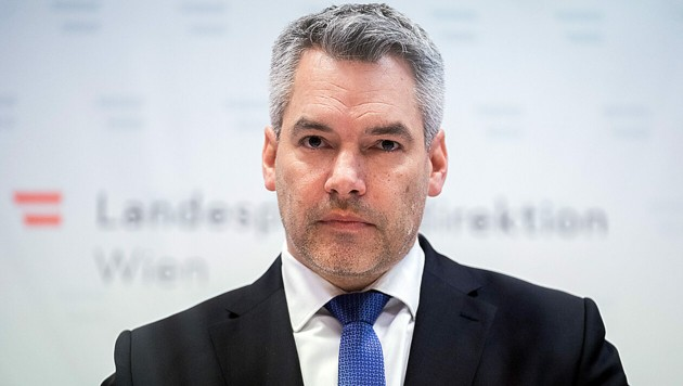 Innenminister Karl Nehammer (Bild: APA/Georg Hochmuth)