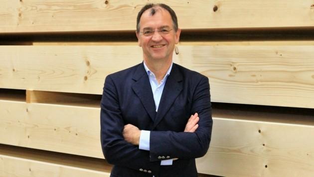 Erich Wiesner ist bei Wiehag Chef von 370 Mitarbeitern. (Bild: Wiehag)