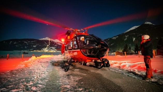 Der in Reutte stationierte Notarzthubschrauber RK-2 kann bis 22.30 Uhr alarmiert werden.