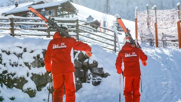 Skischullehrer im ganzen Bundesland hoffen auf eine bessere Saison im kommenden Frühjahr. (Bild: Gerhard Schiel)