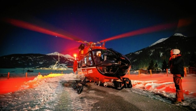 Die Nachteinsätze häufen sich auch bei der ARA Flugrettung: Das kostet mehr Geld. (Bild: ARA/Tomas Kika)