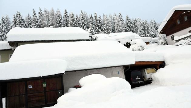 In Bad Bleiberg wurden Häuser evakuiert. (Bild: Hermann Sobe)