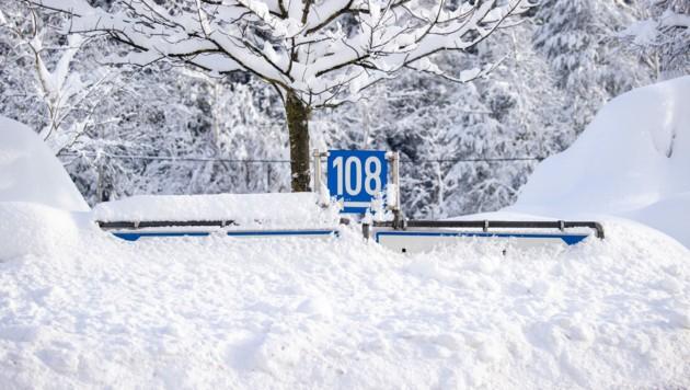 Osttirol versinkt im Schnee.