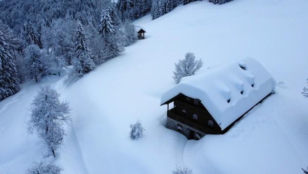 Ein idyllischer Zweitwohnsitz ist sehr beliebt... (Bild: Wallner Hannes)