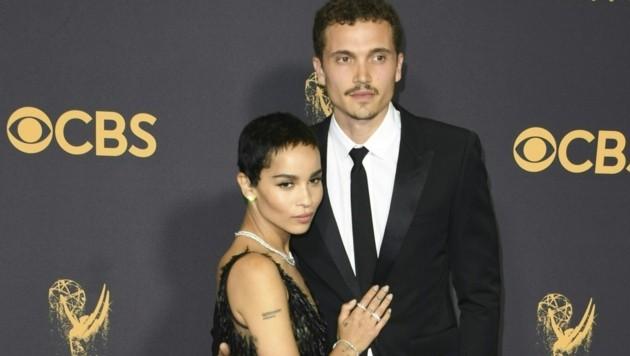Zoe Kravitz und Karl Glusman haben sich getrennt. (Bild: AFP)
